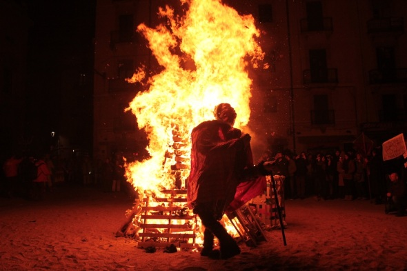 Cremation of Carnestoltes