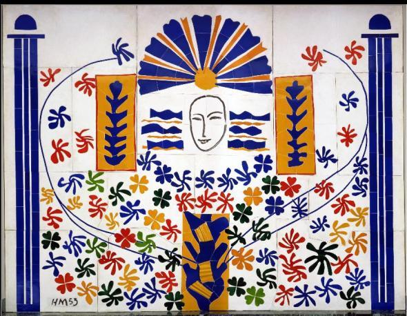 Apollo. Henri Matisse. 1953.