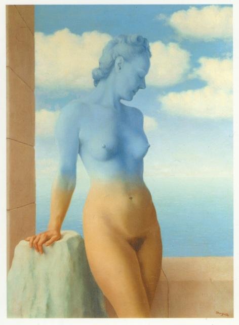 La Magie Noire. René Magritte. 1945.