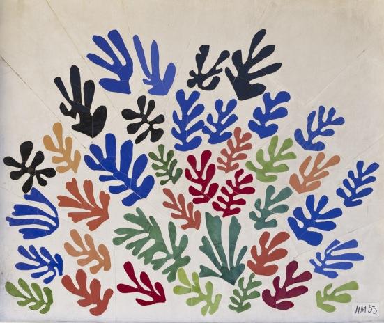 La Gerbe. Henri Matisse. 1953.