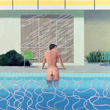 Peter Getting Out of Nick's Pool. David Hockney. 1966.