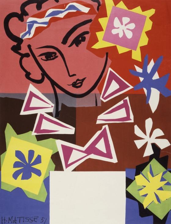 Madame de Pompadour. Henri Matisse. 1951.