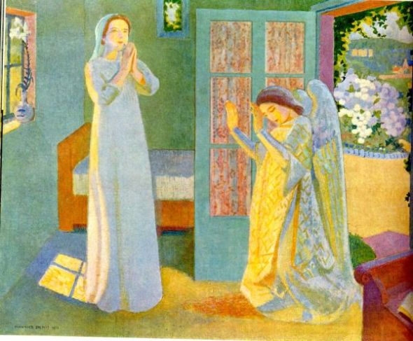 The Annunciation. Maurice Denis. 1913.