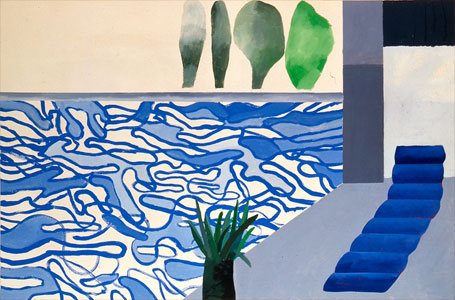Picture of a Hollywood Swimming Pool. David Hockney. 1964.