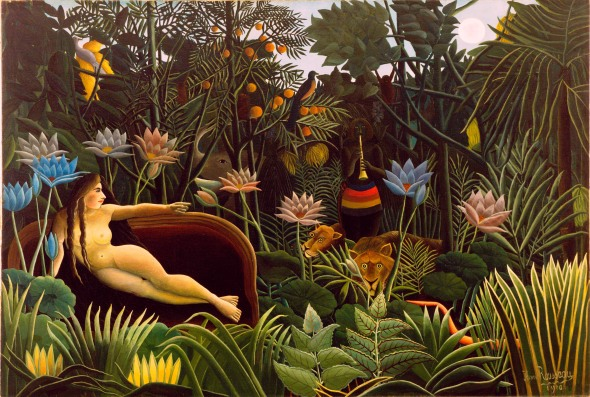 La Rêve (The Dream). Henri Rousseau. 1910.