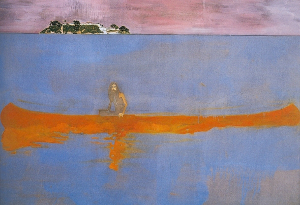 100 Years Ago. Peter Doig. 2001.