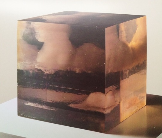 Small Cloud Box. Peter Alexander. 1966. Polyester resin.