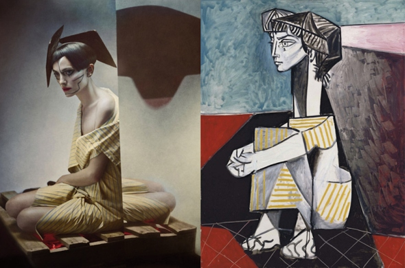 Picasso-Paintings-Inspired-Hallucinatory-Photographs-by-Photographer-Eugenio-Recuenco-6