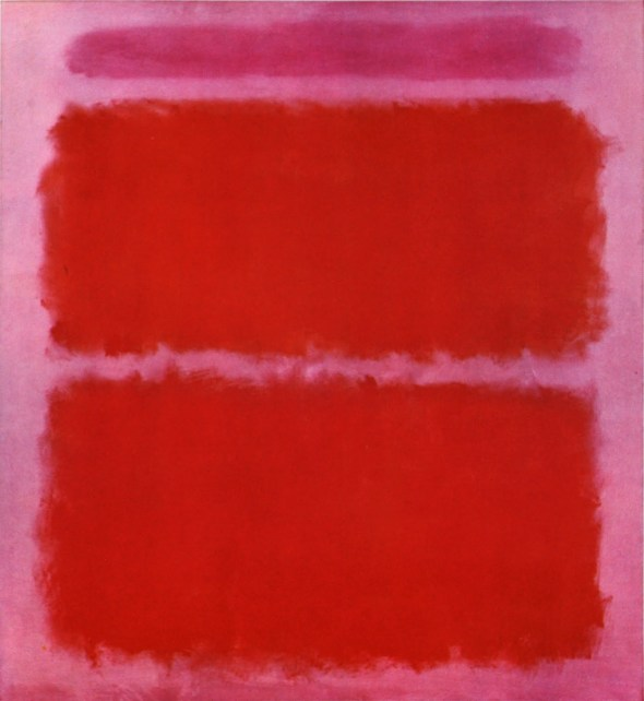 Mauve and Orange. Mark  Rothko. 1961.