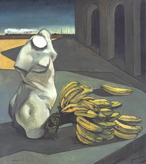 The Uncertainty of the Poet. Giorgio de Chirico. 1913.
