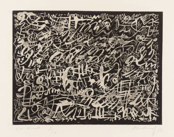 The Night. Pierre Alechinsky. 1952.