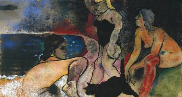 The Rise of Fascism. R. B. Kitaj. 1975-9.