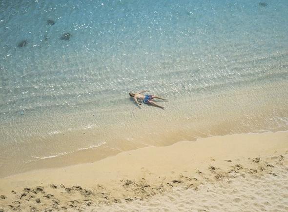 On the Beach. Richard Misrach.