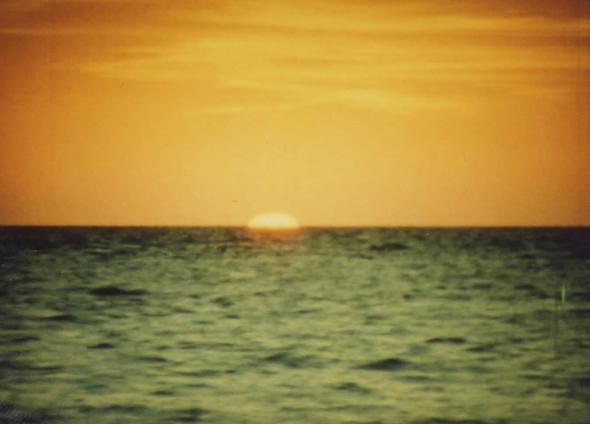 The Green Ray from The Sun Quartet. Tacita Dean. 2001