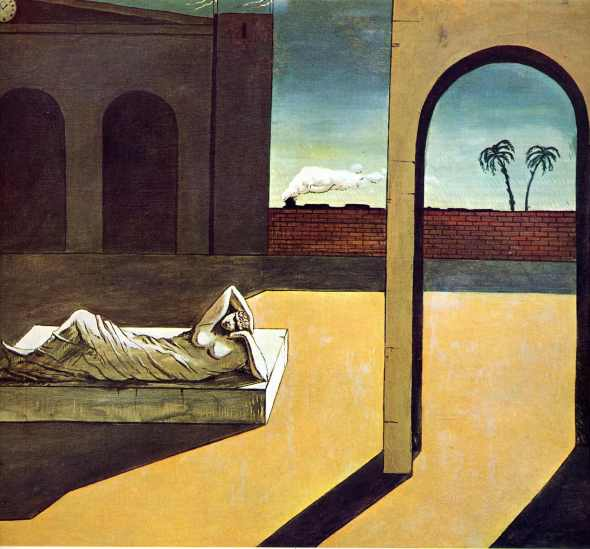 The Soothsayer's Recompense. Giorgio de Chirico. 1913.