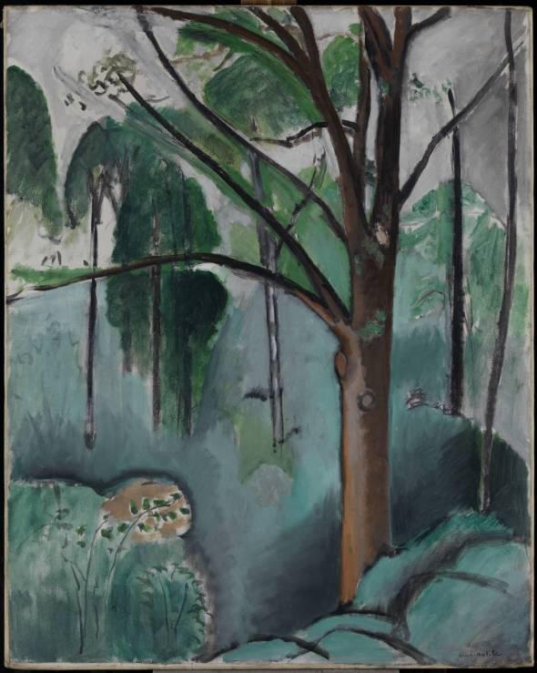 Trivaux Pond. Henri Matisse. 1916-7.