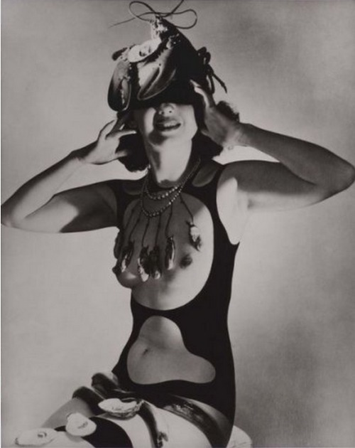 "Costume Design for ""The Dream of Venus"" (Collaboration with Salvador Dali). Horst P. Horst. 1939"
