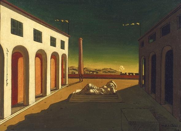 Melancholia. Giorgio de Chirico. 1916