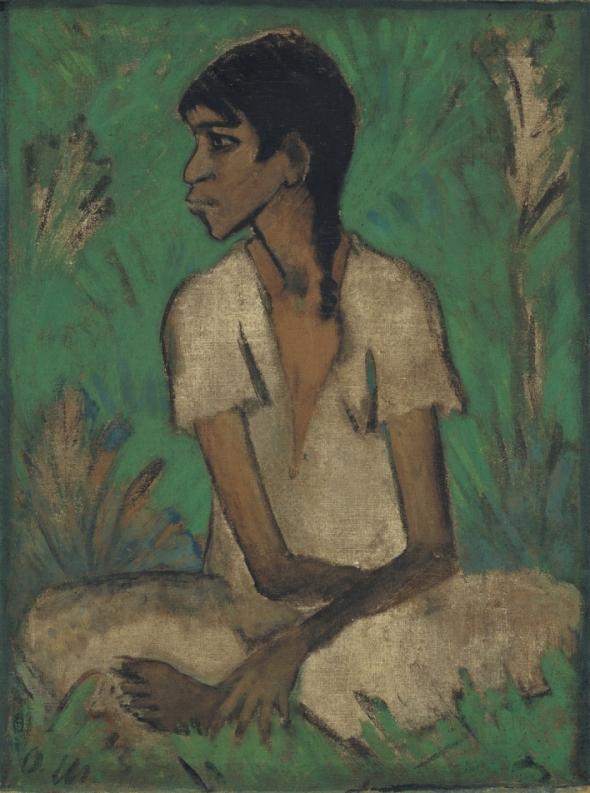 Gypsy. Otto Mueller. 1926