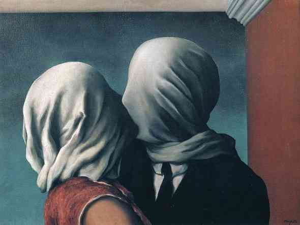 The Lovers. René Magritte. 1928