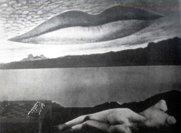 Observatory Time: The Lovers. Man Ray. 1936