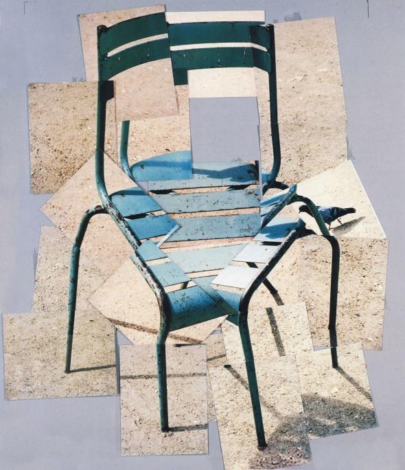 Chair. David Hockney. 1985.