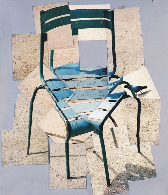 Chair. David Hockney. 1985.