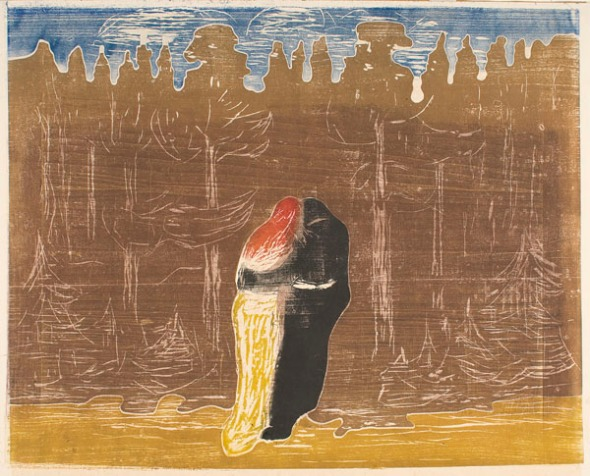 Towards the Forest II. Edvard Munch