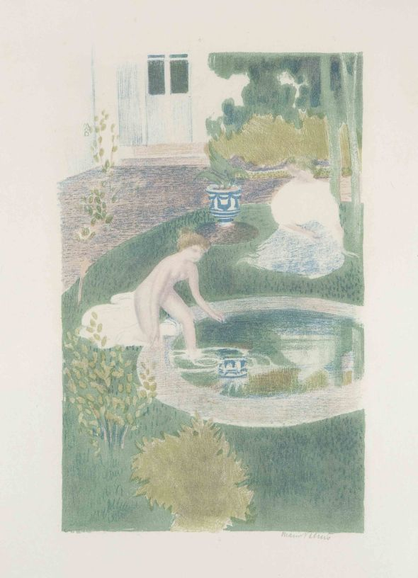 The Reflection in the Fountain. Maurice Denis. 1897.
