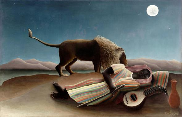 The Sleeping Gypsy. Henri Rousseau. 1897.