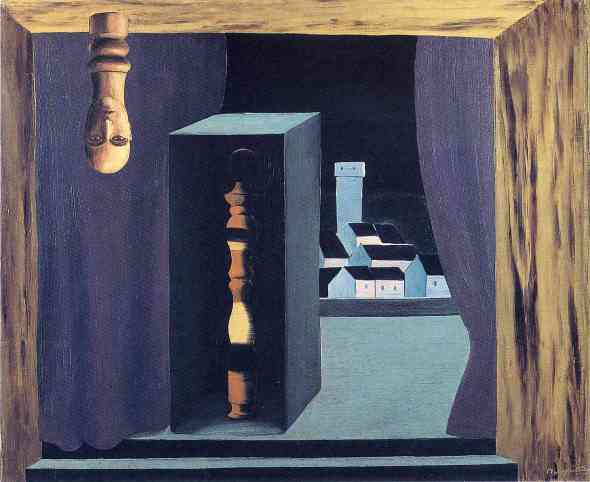 A Famous Man. Rene Magritte. 1926.