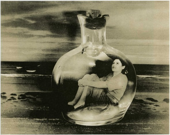 Grete Stern  Dream No 5 Bottle cast into the sea 1949