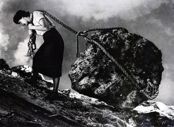 Grete Stern – photomontage, 1949