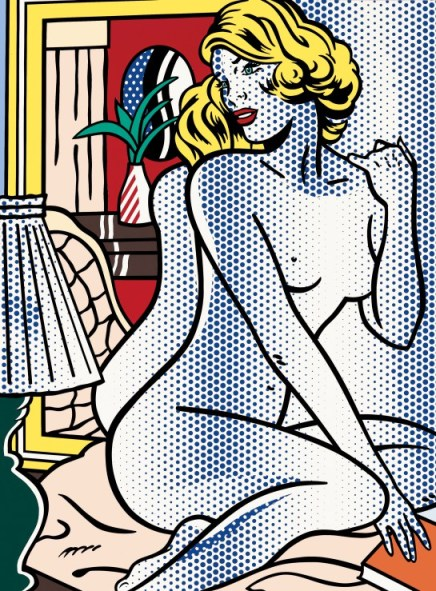 lichtenstein_bluenude_1995