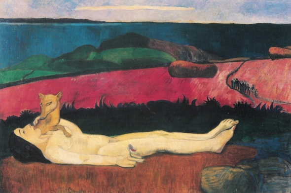 La Perte de Pucelage (The Loss of Virginity). Paul Gauguin. 1890-91.