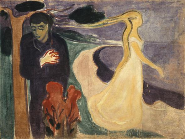 Separation. Edvard Munch. 1896.