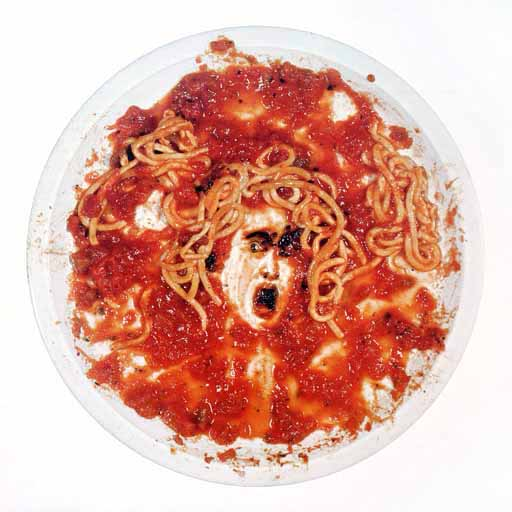 Untitled (Medusa Plate). Vik Muniz. 1999.