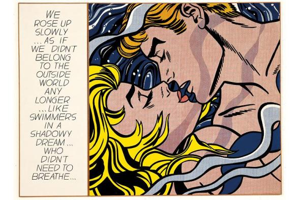 We Rose Up Slowly. Roy Lichtenstein. 1964.