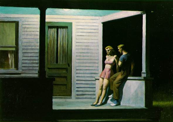 Summer Evening. Edward Hopper. 1947.
