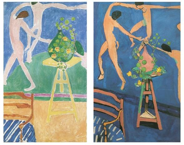 La Danse with Nasturtiums. Matisse. 1912.