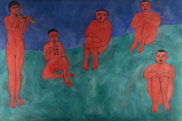 Music. Henri Matisse. 1910