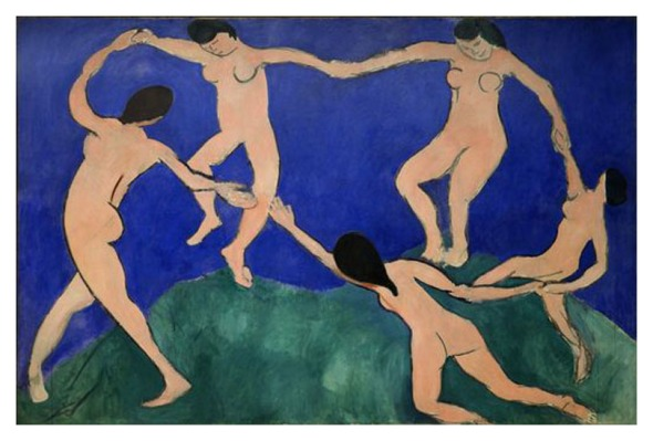 Dance (I). Henri Matisse. 1909.