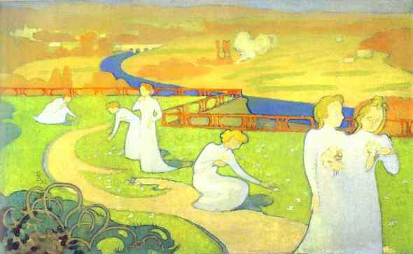 April. Maurice Denis. 1892.
