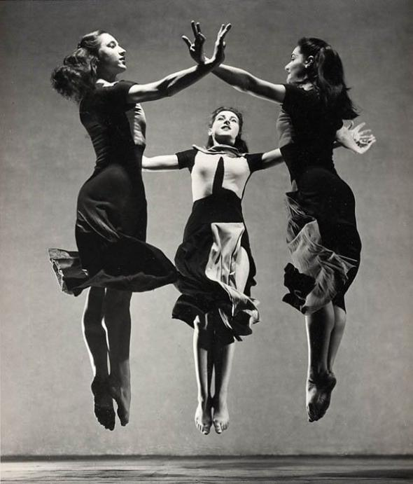 Martha Graham, Celebration.  Barbara Morgan. 1937