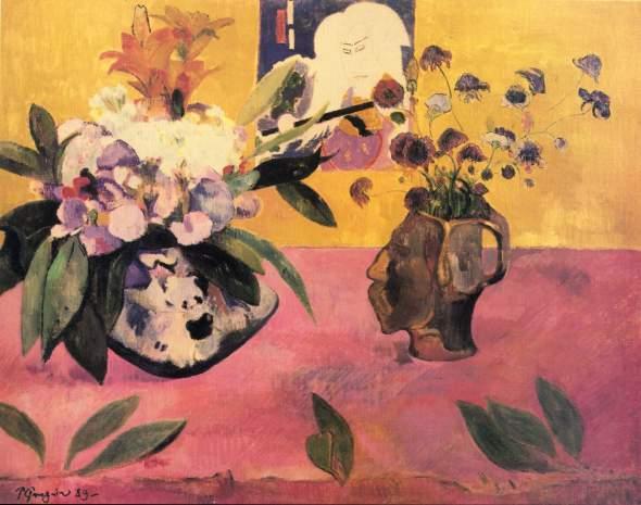Nature Morte à L'estampe Japonaise. Paul Gauguin.