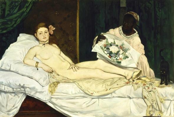 Olympia. Edouard Manet. 1863.