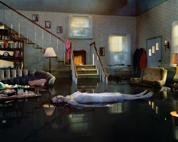Untitled (Ophelia). Gregory Crewdson. 2001.