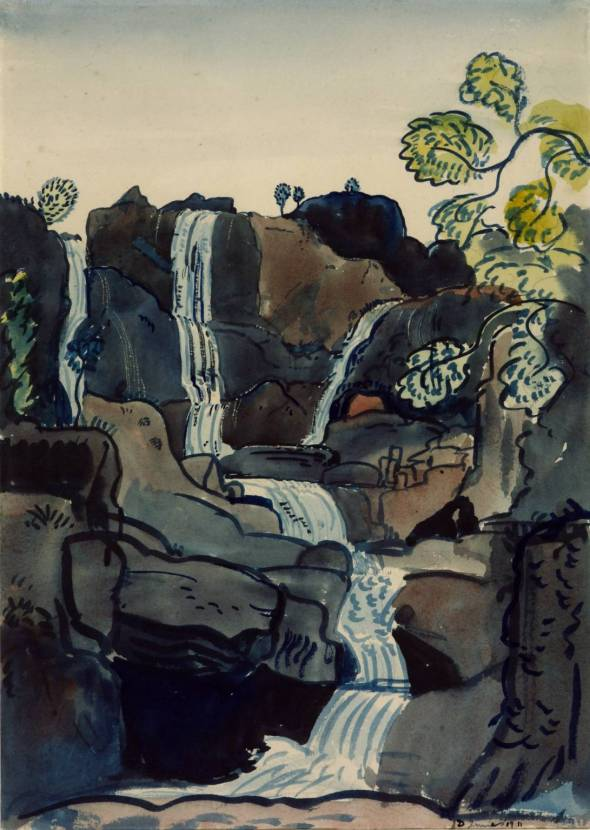 Waterfall. James Dickson Innes. 1911.