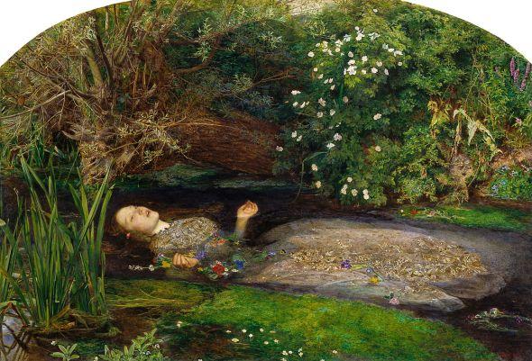 Ophelia. John Everett Millais. 1851.