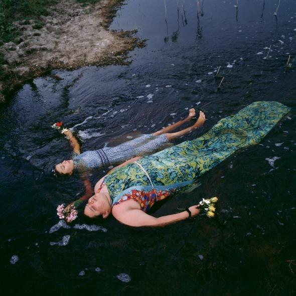 Alessandra Sanguineti. Ophelia. 2002.